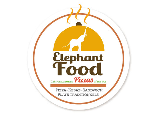 Logo Elephant Food